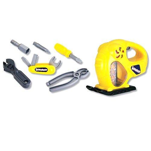 Набор инструментов Keenway (электрорубанок, отвертка, инструменты) (4)