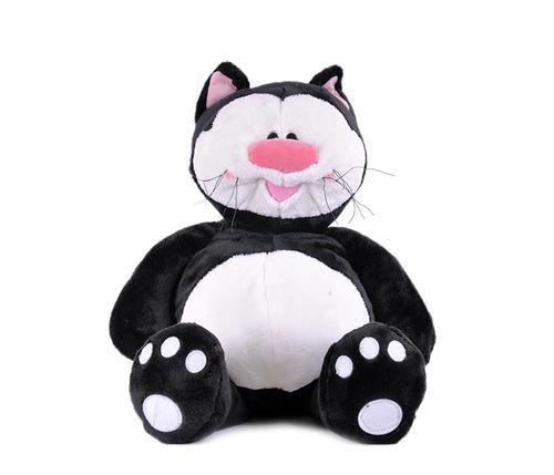 Кот Котя черный сидячий 71см (3)
