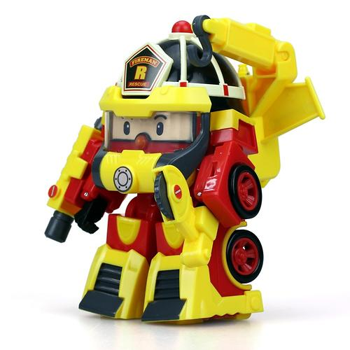 Машинка Silverlit Рой трансформер 10 см + костюм супер пожарного (5)