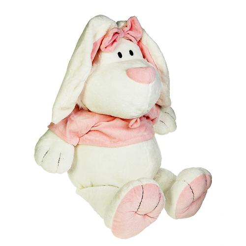 """Кролик Белый сидячий 28"""" (71см) (6)"""