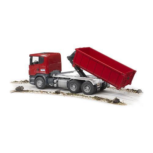 Самосвал-контейнеровоз Scania (4)