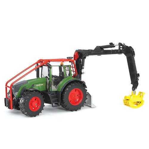 Трактор Fendt 936 Vario лесной с манипулятором (6)
