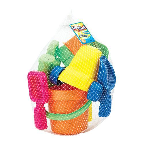 Набор Keenway 15 игрушек для песочницы в сетке в интернет-магазине Minim (t8521303112) (4)