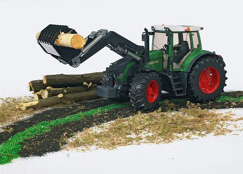 Трактор Fendt 936 Vario с погрузчиком (6)