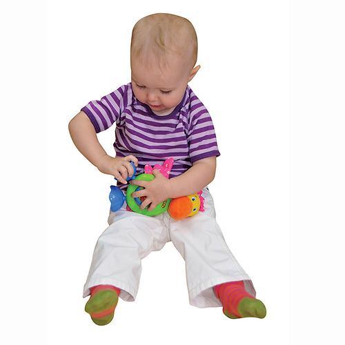 "Развивающая игрушка ""Прогулка Пеликана"" (звук, безопасное зеркало) (8)"