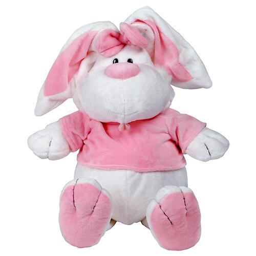 Кролик Белый сидячий 40 см (5)