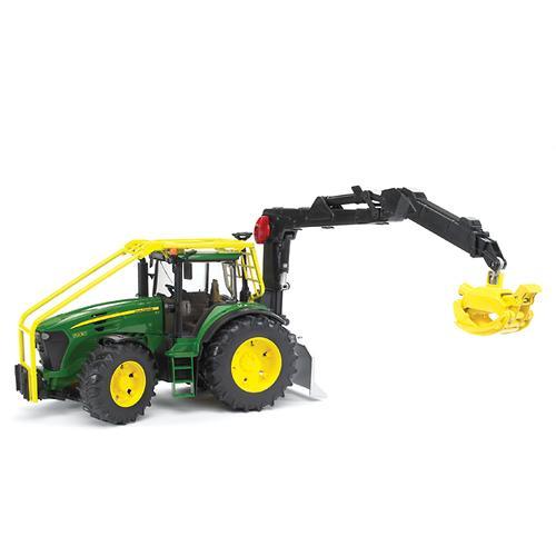 Трактор John Deere 7930 лесной с манипулятором (5)