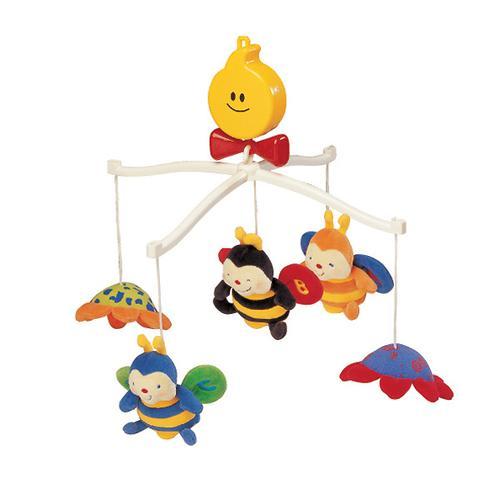 Крутящиеся музыкальные игрушки: Пчелки (1)