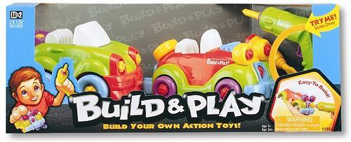 Набор Keenway Build&Play 2в1 2 машины (4)