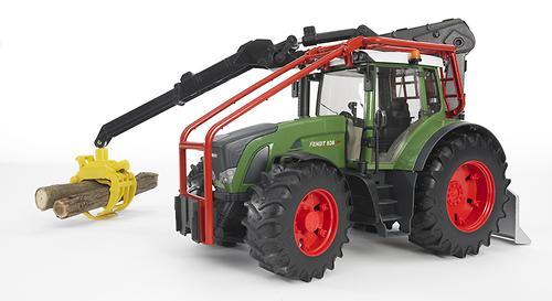 Трактор Fendt 936 Vario лесной с манипулятором (7)
