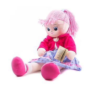 Кукла мягкая Земляничка, 40 см - Minim