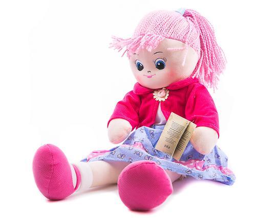 Кукла мягкая Земляничка, 40 см (3)