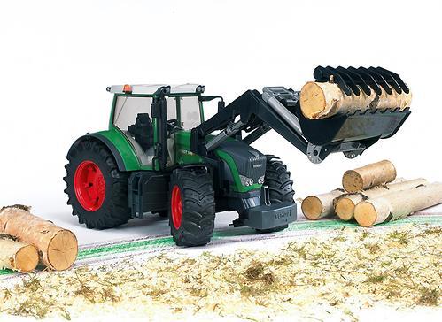 Трактор Fendt 936 Vario с погрузчиком (7)