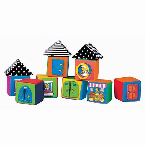 Мягкие кубики в коробке (3)