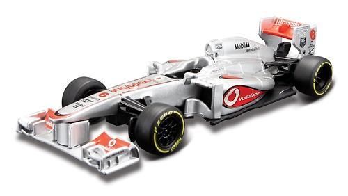 Машина BB Формула-1 Команда 2013 McLaren металлическая в пластиковом диспенсере 1:32 (1)