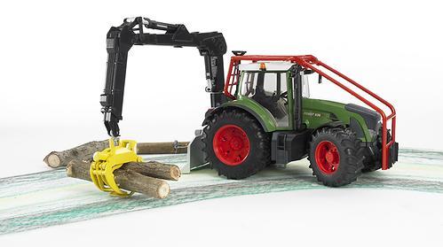 Трактор Fendt 936 Vario лесной с манипулятором (9)