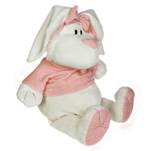 Кролик Белый сидячий 23см (6)