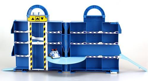 Кейс для хранения Silverlit Парковка с металлической машинкой Поли (5)