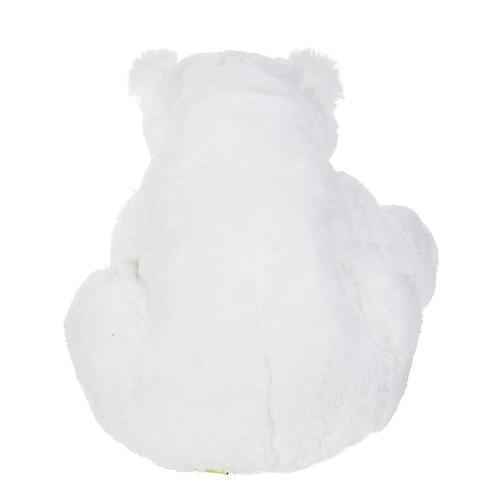 Медведь белый лежачий 43 см (8)