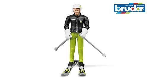 Фигурка лыжника с аксессуарами (1)