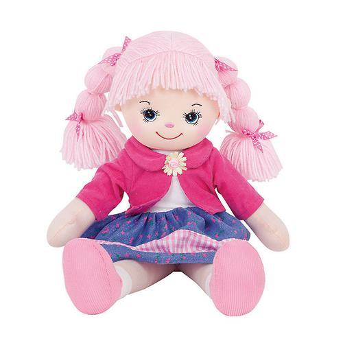 Кукла мягкая Земляничка, 40 см (4)