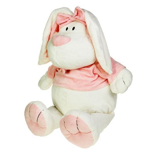 """Кролик Белый сидячий 28"""" (71см) (8)"""