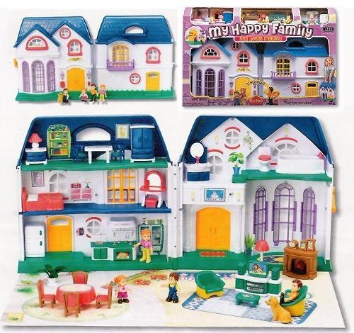 Набор Keenway My Happy Family дом с предметами сборный музыкальный (5)
