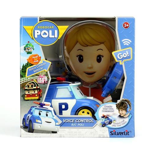 Машинка Поли на голосовом управлении (4)
