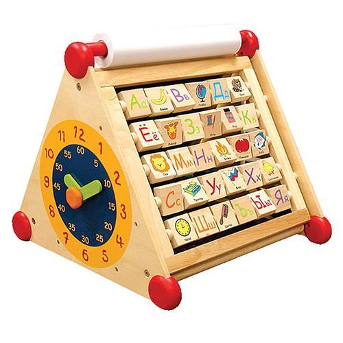 Развивающий центр I`m Toy 7 в 1 (алфавит, часы, доски для рисования, логические сортеры, счёты) (5)
