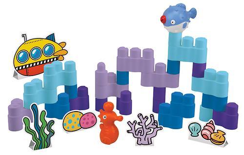 Игровой набор конструктор Подводный мир (6)