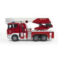 Пожарная машина Scania с выдвижной лестницей и помпой с модулем со световыми и звуковыми эффектами