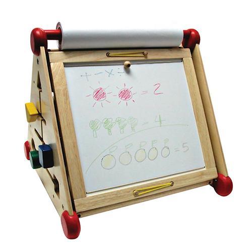 Развивающий центр I`m Toy 7 в 1 (алфавит, часы, доски для рисования, логические сортеры, счёты) (8)