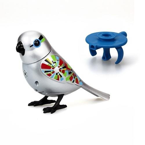 Игрушка Silverlit Золотая и серебряная птичка с кольцом (7)