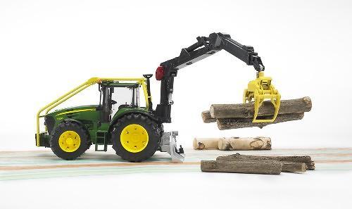 Трактор John Deere 7930 лесной с манипулятором (7)
