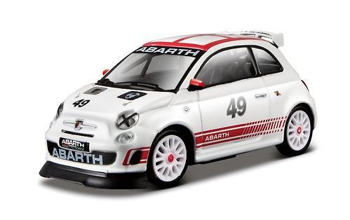 Машинка Bburago 1:43 Ралли Abatrh - Abarth 500 Assetto Corse (1)