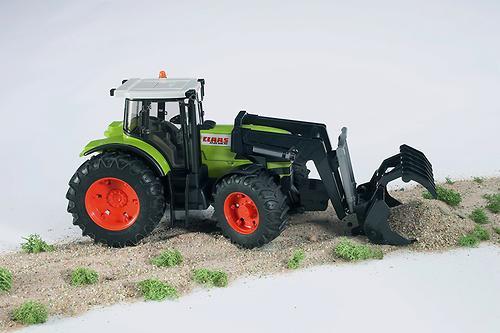 Трактор Claas Atles 936 RZ c погрузчиком (5)
