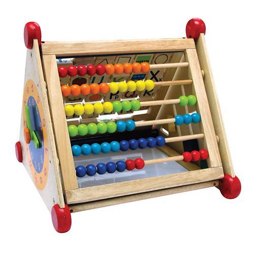 Развивающий центр I`m Toy 7 в 1 (алфавит, часы, доски для рисования, логические сортеры, счёты) (7)