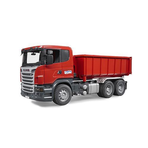 Самосвал-контейнеровоз Scania (3)