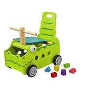 Игрушка I`m Toy Сортер-каталка Крокодил
