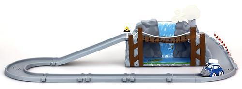 Набор Silverlit Обрушающийся мост с металлической машинкой Масти (3)