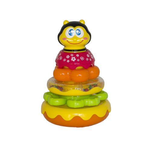 Пирамидка Hap-p-kid Пчелка (5)