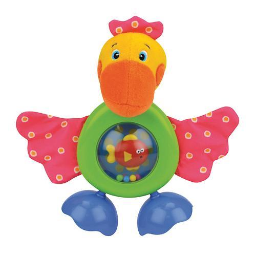 "Развивающая игрушка ""Прогулка Пеликана"" (звук, безопасное зеркало) (6)"