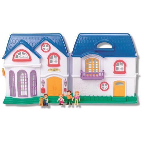 Набор Keenway My Happy Family дом с предметами сборный музыкальный (6)