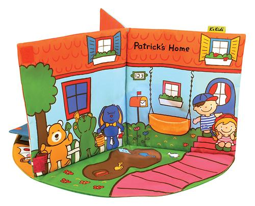 3D-книжка K's Kids В гостях у Патрика (5)