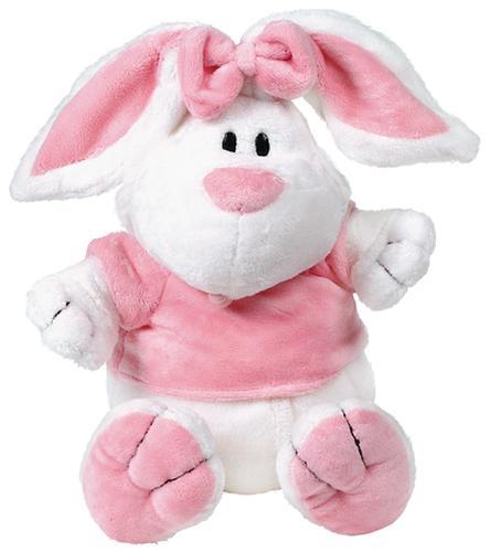 Кролик Белый сидячий 23см (5)