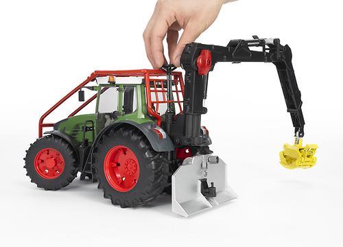 Трактор Fendt 936 Vario лесной с манипулятором (8)