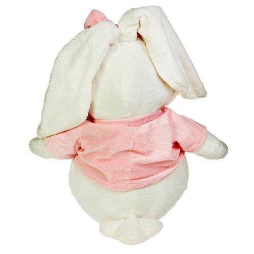 """Кролик Белый сидячий 28"""" (71см) (7)"""