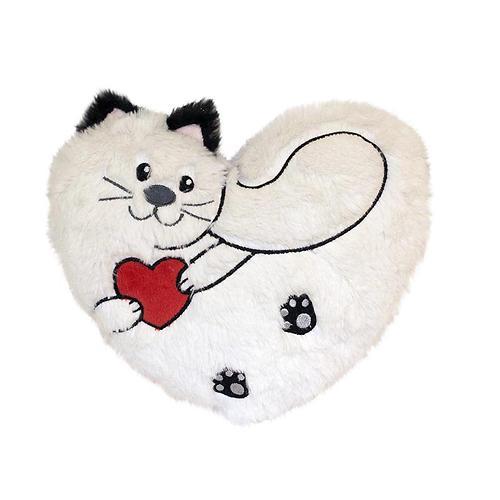 Подушка Пушистик с сердцем 25 см (1)