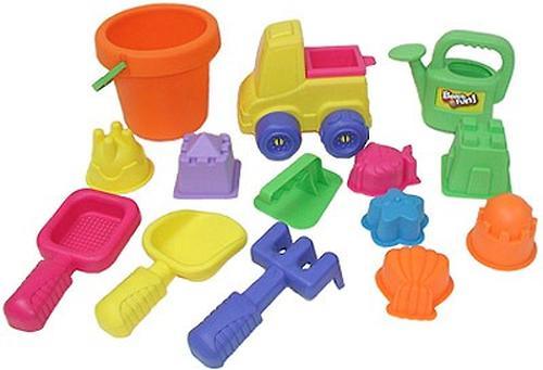 Набор Keenway 15 игрушек для песочницы в сетке в интернет-магазине Minim (t8521303112) (3)
