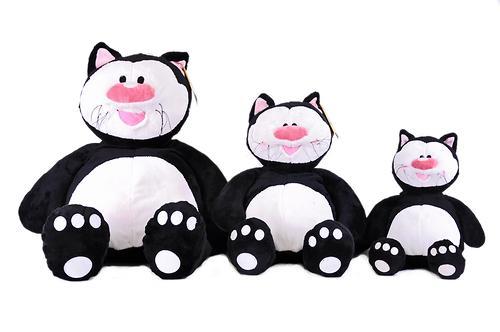 Кот Котя черный сидячий 71см (4)